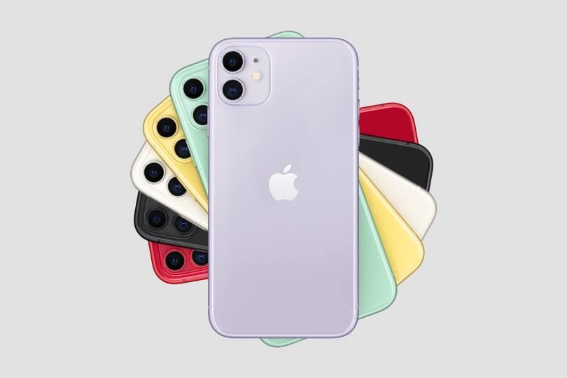 iPhone 11 de diversas cores