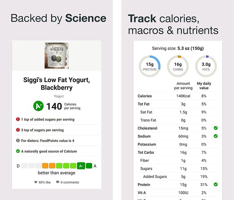 Fooducate - Melhor aplicativo de Informação Nutricional