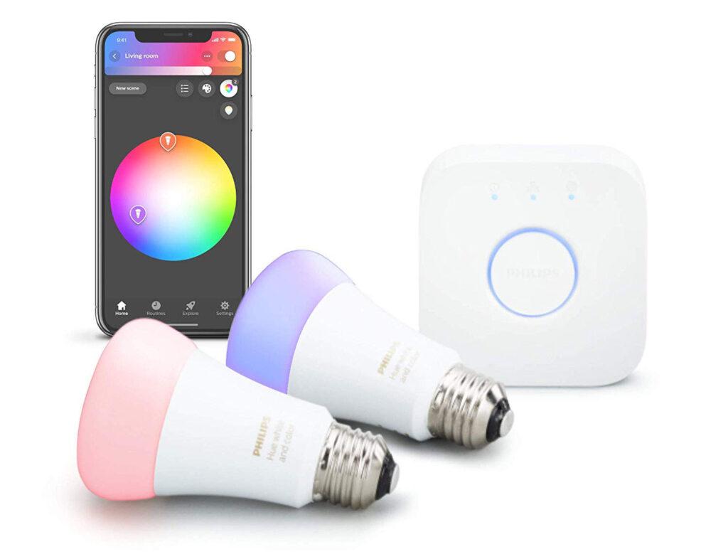 Hue by Philips - Melhores lâmpadas inteligentes