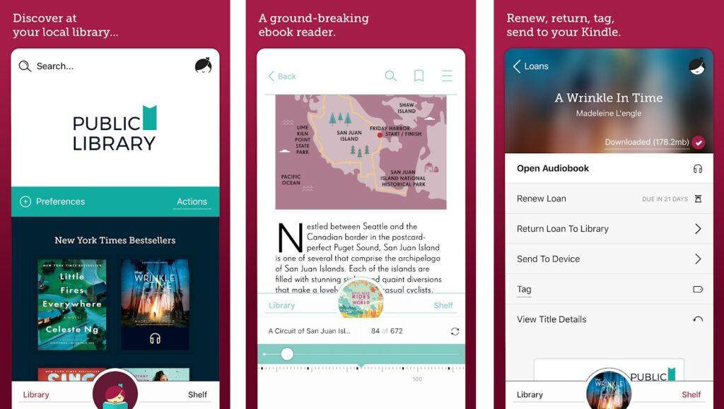 Libby, melhor aplicativo de biblioteca para iPhone
