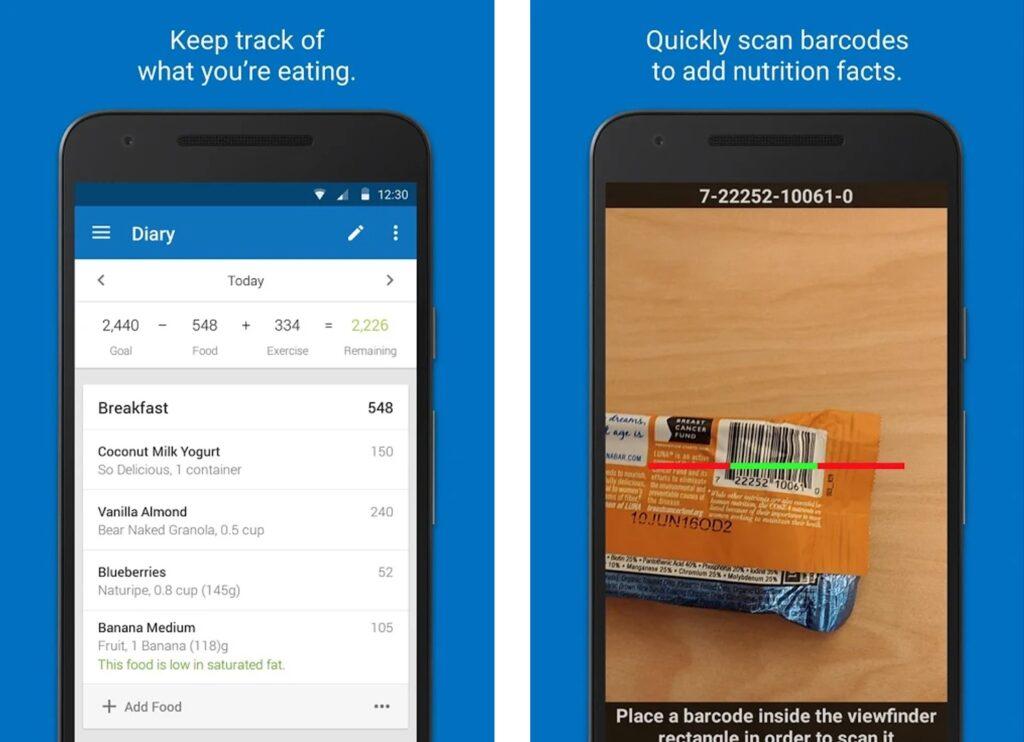MyFitnessPal - Melhor aplicativo para contagem de calorias
