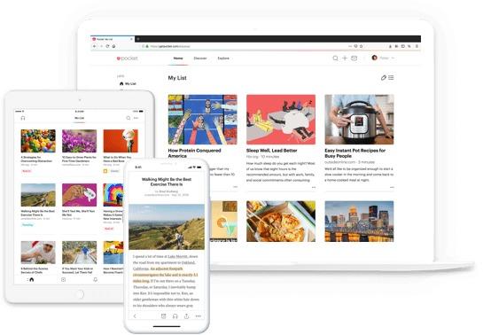 Pocket, melhor aplicativo para iPhone para salvar conteúdo