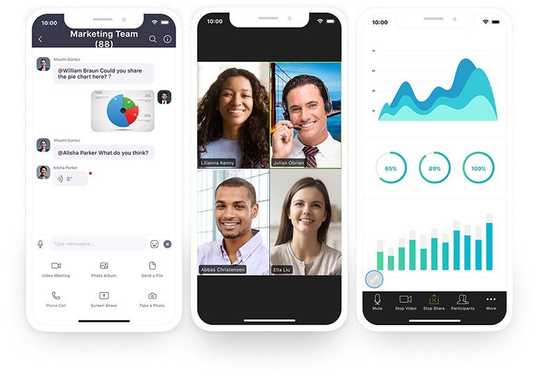 Zoom, aplicativo para reuniões on-line