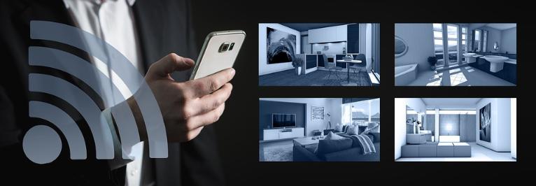Controlando seu sistema de iluminação inteligente através do seu Smartphone.