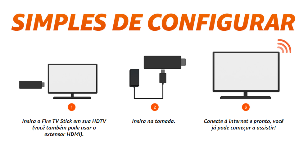 Como configurar o Amazon Fire TV Stick