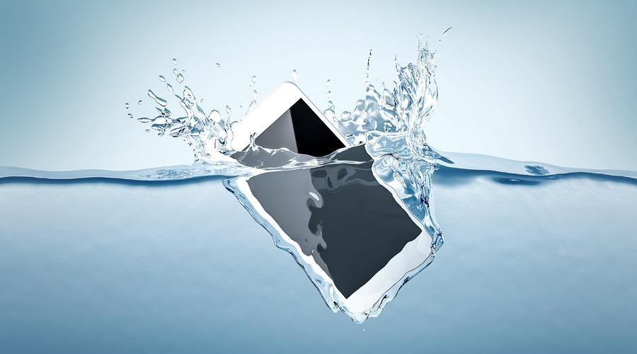 o iPhone é impermeável?