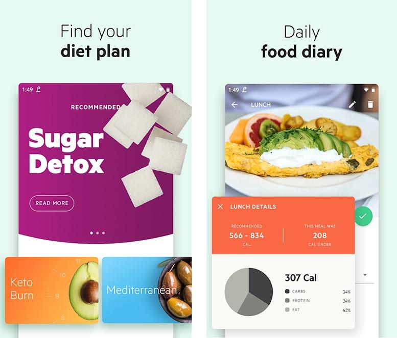 Lifesum - Melhor aplicativo de dieta