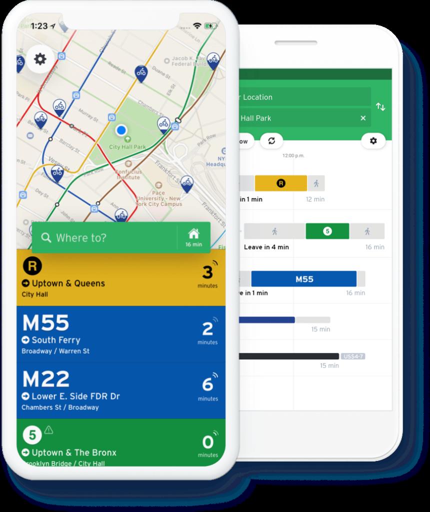 Transit, melhor aplicativo para iPhone gratuito para trânsito