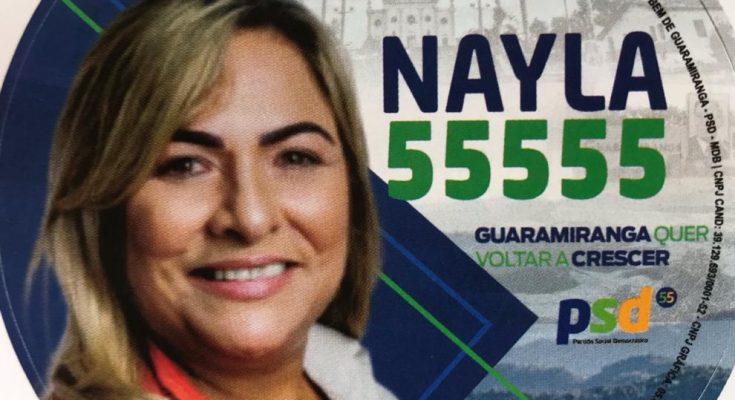 NAYLA SALDANHA Candidata a Vereadora de Guaramiranga